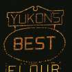 Yukon's Best Flour sign lit up in night sky.  Community Photo By:  Debbie Musick  Submitted By:  debbie, Oklahoma City