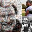 Barry Switzer. PHOTO ILLUSTRATION BY BILL BOOTZ, THE OKLAHOMAN, USING ANDREA MOSAIC FOR MAC
