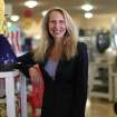 In this April 22, 2013 file photo, TJX CEO Carol Meyrowitz poses for a photo in Framingham, Mass. Meyrowitz was the highest paid female CEO of 2013. (AP Photo/The Boston Globe, Suzanne Kreiter)  BOSTON HERALD OUT, QUINCY OUT; NO SALES