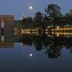 Sunset at the Oklahoma City Memorial reflecting pool, taken April 12, 2006  Community Photo By:  Brad Smith  Submitted By:  Brad, Oklahoma City