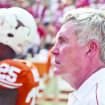 Texas athletic director DeLoss Dodds said he is confident that coach Mack Brown can turn around the Longhorns football program. Photo Credit: Lawrence Peart | Daily Texan Staff.