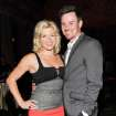 Actress Megan Hilty boyfriend Brian Gallagher attend the