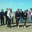 At the groundbreaking for the new Youth & Family Services Care Center near Banner March 27th are YFS Board Members (front row, l-r): Stan Steffen, Jon Miller (president), and Dee Blose; (back row): Walt Corbett, Ed Lynch, Mark Bilbrey, Donna Von Tungeln, Phillip York, Brad Tipton, and John Gooden. YFS provides emergency services for families in crisis.  Community Photo By:  Mike Fry  Submitted By:  Mike, Oklahoma City