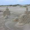 Sand castles at Padre Island National Seashore, Texas. 03/24/07  Artist unknown.  Community Photo By:  Tom Bell  Submitted By:  Tom, oklahoma City
