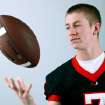 All-State Team player Christian Hood, of Tulsa Union, poses at the OPUBCO studios in Oklahoma City on Monday, Dec. 13, 2010. Photo by John Clanton, The Oklahoman