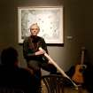 The artist William T. Wiley alternated between a didgeridoo and guitar while giving a presentation of his work at Untitled [ArtSpace] May 6th.  Community Photo By:  Lori Deemer  Submitted By:  Ian, Oklahoma City