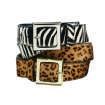 FASHION / ACCESSORIES: Animal prints belts from Target.  ORG XMIT: 0811201835281834