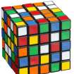 A five row Rubik's cube  (a 3-D mechanical puzzle)     ORG XMIT: 1003051745053411