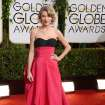 Taylor Swift arrives at the 71st annual Golden Globe Awards at the Beverly Hilton Hotel on Sunday, Jan. 12, 2014, in Beverly Hills, Calif. (Photo by Jordan Strauss/Invision/AP)