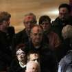 Parishioners of St .Peter's Cathedral in Scranton, Pa., file back to their seats after receiving ashes during Ash Wednesday services on Wednesday, Feb. 22, 2012.  (AP Photo/The Scranton Times-Tribune, Jake Danna Stevens) WILKES BARRE TIMES-LEADER OUT; MANDATORY CREDIT