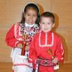 Left: Niigan Sunray, tied for 1st place, Individual Spoken Language, grades PreK - 2  Right: Tdhosan Sunray, 3rd place, Individual Spoken Language, grades PreK – 2. Oklahoma Native American Youth Language Fair  Community Photo By:  Krysten Marshall  Submitted By:  Linda, Norman