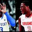 Kentucky and Syracuse are two of the four NCAA Tournament No. 1 seeds. AP photos