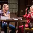 This theater image released by Boneau/Bryan-Brown shows Mickey Sumner, left, and Carol Kane in a scene from Craig Lucas' new play,