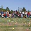Children race to gather eggs at the 2007 Eggstravaganza Egg Hunt at the Sam Noble Oklahoma Museum of Natural History in Norman.  Community Photo By:  Krysten Marshall  Submitted By:  Linda, Norman