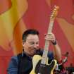 Bruce Springsteen and the E Street Band play the Acura Stage at the 2012 New Orleans Jazz and Heritage Festival presented by Shell on Sunday, April 29, 2012. (AP Photo/The Times-Picayune, David Grunfeld) MAGS OUT; NO SALES; USA TODAY OUT