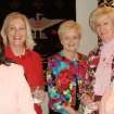 OU WOMEN'S NETWORK....Ann Nuttle, Lynn Talley, Mary Sherman, Sandy Kinney, Anona Adair were guests at the party given by Tripp Hall. He talked about how to  celebrate and promote philanthropic education, leadership and advocacy by empowering women to be active participants in the giving process.  OU wants to engage more women in the life of the University. (Photo by Alex Wilson).