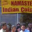 Grand Opening of Namaste Indian Cuisine in Edmond.  Community Photo By:  Joyce w/ Edmond Chamber  Submitted By:  Sri,