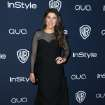 Mayam Bialik arrives at the 15th annual InStyle and Warner Bros. Golden Globes after party at the Beverly Hilton Hotel on Sunday, Jan. 12, 2014, in Beverly Hills, Calif. (Photo by Matt Sayles/Invision/AP)
