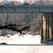 Pickup slides off the Spring River Bridge on the Will Rogers Turnpike in Ottawa County. Gary Crow, for the Oklahoman