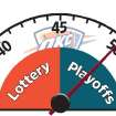 BAROMETER / NBA BASKETBALL / OKLAHOMA CITY THUNDER / GRAPHIC: Lottery - Playoffs