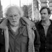 "This image released by Paramount Pictures shows Bruce Dern as Woody Grant, left, and Will Forte as David Grant in a scene from the film ""Nebraska."" The film was nominated for an Academy Award for best picture on Thursday, Jan. 16, 2014. The 86th Academy Awards will be held on March 2. (AP Photo/Paramount Pictures)"