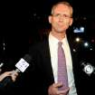 FILE - In this Tuesday June 22, 2010 file photo, South Carolina congressional candidate Bob Inglis speaks to the reporters after his loss in the runoff election to Trey Gowdy in Greenville, S.C. A carbon tax has been revived by some on both right and left spectrum of politics and is suddenly the hot topic of opinion pieces and quiet discussions.