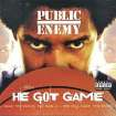 ALBUM COVER GRAPHIC: Public Enemy - He Got Game