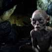 This film image released by Warner Bros., shows the character Gollum voiced by Andy Serkis in a scene from the fantasy adventure