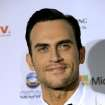 Actor Cheyenne Jackson arrives for the 40th International Emmy Awards, Monday, Nov. 19, 2012 in New York. (AP Photo/Henny Ray Abrams)
