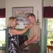 This May 2004 photo provided by Lisa Freeman shows her pinning on her son Matthew's 1st Lt. rank after his father swore him at their home in Richmond Hill, Ga. Marine Capt. Matthew C. Freeman was killed by a sniper's bullet on Aug. 7, 2009, northeast of Kabul, Afghanistan. Lisa Freeman says,