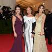 Singer-actress Selena Gomez, from left, designer Diane von Furstenberg and actress Jessica Alba attend The Metropolitan Museum of Art's Costume Institute benefit gala celebrating