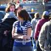 A young girl is comforted following a shooting at the Sandy Hook Elementary School in Newtown, Conn., about 60 miles (96 kilometers) northeast of New York City, Friday, Dec. 14, 2012. A gunman entered the school Friday morning and killed at least 26 people, including 20 young children. (AP Photo/The New Haven Register, Melanie Stengel)  ORG XMIT: CTNHR106