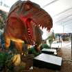 A Yangchuanosaurus is one of the dinosaurs on display at a new exhibit at the Oklahoma City Zoo in Oklahoma City on Wednesday, March 11, 2008. By John Clanton, The Oklahoman ORG XMIT: KOD