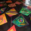 Individual Kites designed by each member of the Summer Blast Camp at the MAC in Mitch Park were assembled onto a single canvas to create a tangible example of cooperation, community and respect. This project was organized and created with Jo Anne Alexander of the Respect Diversity Foundation.  Community Photo By:  Nina Hager  Submitted By:  Nina,