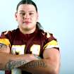 All-State Team player James Twins, of Clinton, poses at the OPUBCO studios in Oklahoma City on Monday, Dec. 13, 2010. Photo by John Clanton, The Oklahoman