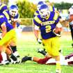 HIGH SCHOOL FOOTBALL: Laverne running back Trevor Harris. PHOTO PROVIDED