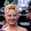 Virginia Madsen arrives before the 84th Academy Awards on Sunday, Feb. 26, 2012, in the Hollywood section of Los Angeles. (AP Photo/Matt Sayles) ORG XMIT: OSC195