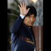 FILE - In this Tuesday, Oct. 2, 2012, Bolivia's President Evo Morales waves to photographers upon his arrival to the Summit of South American and Arab Countries in Lima, Peru. Morales said Friday, Oct. 12, 2012, during a ceremony marking