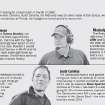 Help wanted GRAPHIC with photos: OU wasn't the only prominent program looking for a head coach in the fall of 1998. Auburn had already hired Tommy Tuberville. Clemson, South Carolina, Ole Miss and Iowa, the alma mater of Bob Stoops, were all in the market for new leaders. With Stoops a hot name as defensive coordinator at Florida, Joe Castiglione moved quickly to secure him. 1) Clemson University's head coach Tommy Bowden watches his team from the sideline against Florida State University's during the fouth quarter of their college football game Monday Sept. 3, 2007, at Memorial Stadium in Clemson, S.C. With a top 25 ranking after winning against Florida State, the Clemson coach is now focused on Louisana-Monroe. (AP Photo/Mary Ann Chastain) 2) COLLEGE FOOTBALL: University of Mississippi coach David Cutcliffe watches the action against University of South Carolina at Brice-Williams Stadium in Columbia, S.C. Saturday, Oct. 9, 2004. Cutcliffe's Rebels face Tennessee this upcoming weekend. Cutcliffe coaached at Tennessee for 17 years before becoming Mississippi's head coach. (AP Photo/Oxford Eagle, Bruce Newman) 3) COLLEGE FOOTBALL: Iowa coach Kirk Ferentz smiles as he walks off the field following Iowa's 30-7 win over Wisconsin, Saturday, Nov. 20, 2004, in Iowa City, Iowa.  The victory gave Iowa a share of the Big Ten Conference title with Michigan. (AP Photo/Charlie Neibergall) 4) COLLEGE FOOTBALL: University of South Carolina head coach Steve Spurrier jokes with Emanuel Cook, (right) as Kenny McKinley, (left) listens as players pose for pictures and during Media Day at Williams Brice Stadium on Sunday, Aug. 3, 2008 in Columbia, S.C.  (AP Photo/The State, Erik Campos)