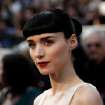 Rooney Mara arrives before the 84th Academy Awards on Sunday, Feb. 26, 2012, in the Hollywood section of Los Angeles. (AP Photo/Matt Sayles) ORG XMIT: OSC172