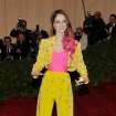 Coco Rocha arrives at the Metropolitan Museum of Art Costume Institute gala benefit, celebrating Elsa Schiaparelli and Miuccia Prada, Monday, May 7, 2012 in New York. (AP Photo/Charles Sykes)