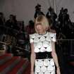 Vogue Editor-in-Chief Anna Wintour arrives at the Metropolitan Museum of Art's Costume Institute Gala in New York on Monday, May 4, 2009. (AP Photo/Evan Agostini) ORG XMIT: NYLS108
