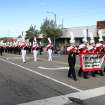 The Yukon High School marching band performs during the Czech Festival  parade Saturday in Yukon. Photo by Hugh Scott, for the Oklahoman