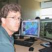 Scott Curl, a meteorologist at the National Weather Service's Norman forecast office, recently talked about technology regarding the May 3, 1999,  tornadoes. Photo by bryan painter, the oklahoman