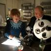 This film image released by Fox Searchlight shows Helen Mirren as Alma Reville, left, and Anthony Hopkins as Alfred Hitchcock in
