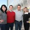 Adrienne Nobles, Jason Acock, Nick Gray, Jessica Ockershauser. Photo by David Faytinger for The Oklahoman__