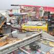 Damage to the Silver Creek Mini Mart shows the effects of a storm in Silver Creek, Ga., Monday, March 18, 2013. Rain, hail and heavy winds buffeted parts of Georgia on Monday, and the National Weather Service issued severe thunderstorm warnings throughout the state. (AP Photo/Rome News-Tribune, Brittany Hannah)