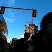 The Devon Tower is still under construction in the background as pedestrians walk by in front of the Cox Convention Center in Oklahoma City on Sunday, Nov. 7, 2010. Photo by John Clanton, The Oklahoman ORG XMIT: KOD
