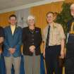 From left to right are Rose State College's honored retiree's Steve Reeves, Carl Sennhenn, Paula Wickersham, Dr. Baillie Dunlap, and Robert Leveridege.  Community Photo By:  Pam Fordenbacher  Submitted By:  Donna, Choctaw