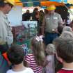 The electrical safety demonstration for children was a popular display at Thursday's Open House for Edmond Electric and the city's Water Resources Department.  Community Photo By:  Jeremy Sanchez, City of Edmond  Submitted By:  Claudia, Edmond